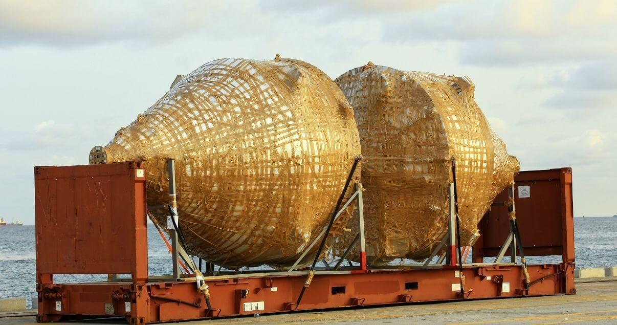 Los contenedores Flat Rack son apropiados para el transporte de mercancía pesada. (1)