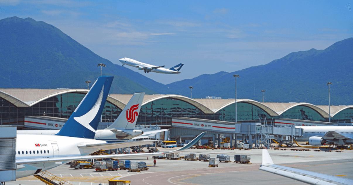 BP3_El aeropuerto de transporte de carga de Hong Kong es uno de los más importantes.